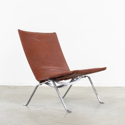 Poul Kjaerholm PK22 lounge chair by E. Kold Christensen, Denmark 1960s