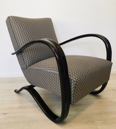 H269 Armchair by Jindřich Halabala for UP Závody, 1930s