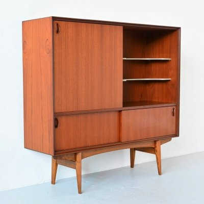 Oswald Vermaercke model Paola teak buffet by V Form, Belgium 1959