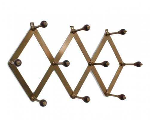 Luigi Caccia Dominioni coat rack for Azucena, 1950s