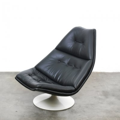 Artifort F590 Swivel Lounge Chair by Geoffrey Harcourt, The Netherlands