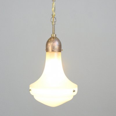 Bauhaus Pendant Light by Jenaer Glaswerke, Circa 1920s