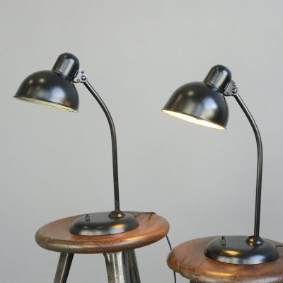 Model 6556 Table Lamps by Kaiser Idell, Circa 1930s