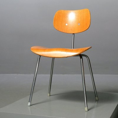 Vintage chair by Egon Eiermann for Wilde+Spieth, 1960s