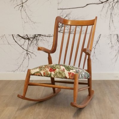 Mid Century Rocking Chair, 1950s