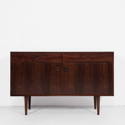 Midcentury Danish cupboard with 2 doors & 2 drawers in rosewood by Brouer Møbelfabrik, 1960