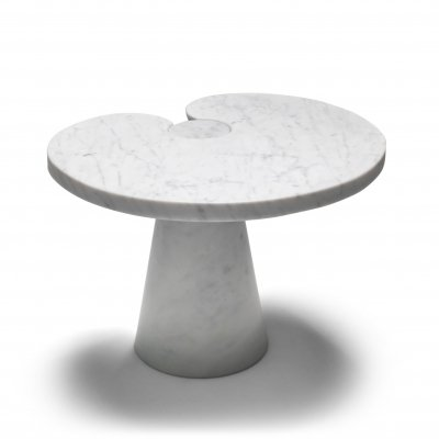Mangiarotti Carrara Marble Side Table 'Eros series' for Skipper, 1970's