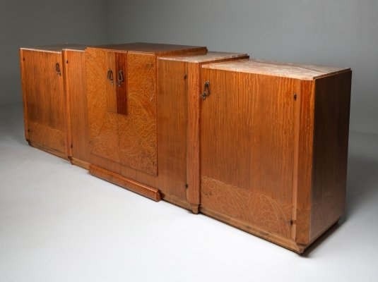 Art Deco High-End Credenza, 1930's