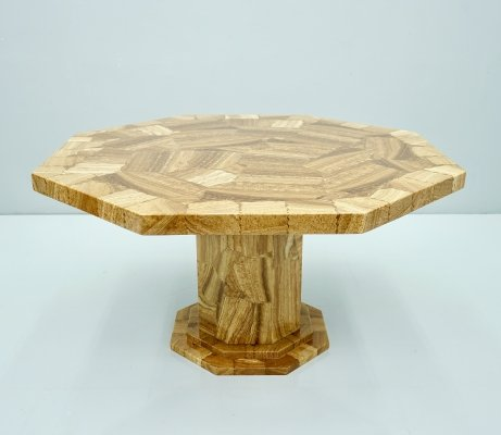 Octagonal Onyx Marble Dining Table, 1980s