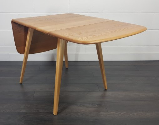 Ercol Square Drop Leaf Dining Table, 1960s