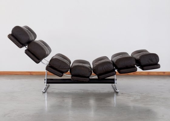 1970s Chaise longue 'Lord' by Ric Deforche for Gervan