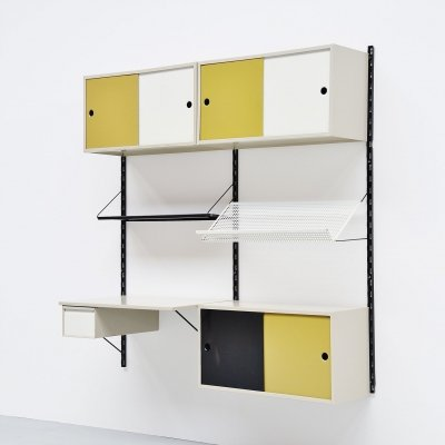 Pilastro double wall unit by Tjerk Reijenga, Holland 1960