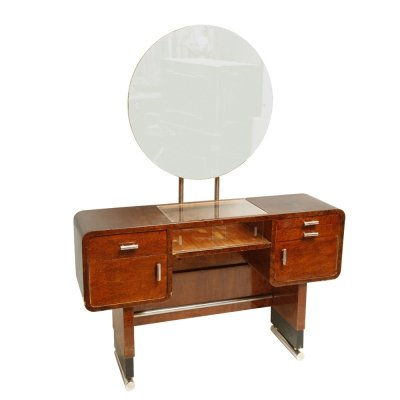 Functionalist Art Deco dressing table, Czechoslovakia 1930s