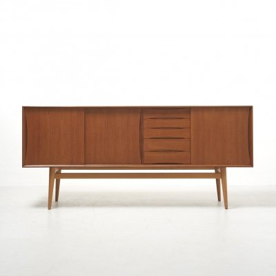 Sideboard in Teak & Ash, Sweden 1960's