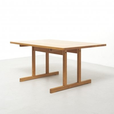 'Shakers' Dining Table Model 6289 by Børge Mogensen for Fredericia, 1950's