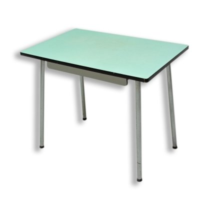 Mid century formica writing desk or side table, Czechoslovakia 1960s