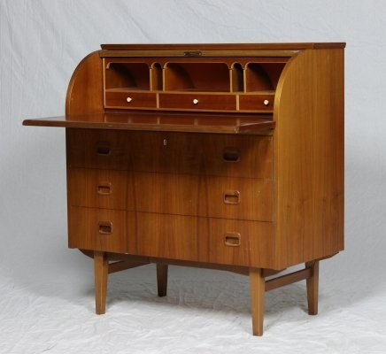 Roll Top Desk by Egon Ostergaard, 1960s