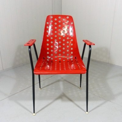 French chair / garden chair by Fantasia France, 1950's