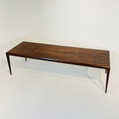 Coffee Table in Wood by Johannes Andersen for CFC Silkeborg, Denmark 1960's