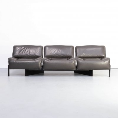80s Vico Magistretti 'veranda 1-2-3' sofa for Cassina