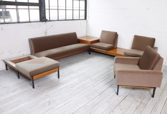 Large Midcentury Seating Group, 1960s