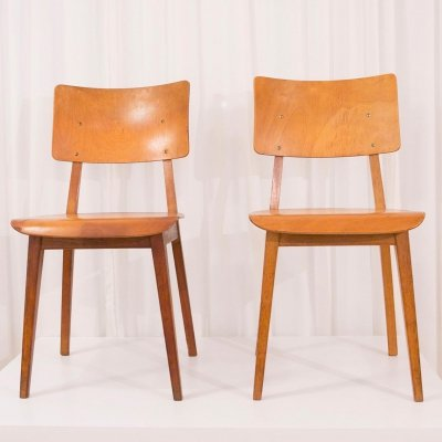 Very early 'Irene' chairs by Dirk Braakman for Pastoe, 1940s