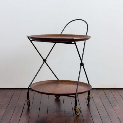 Serving trolley by Paul Nagel for Jie Gantofta