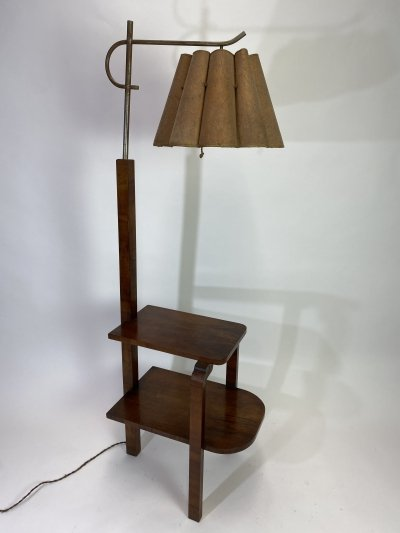 Floor lamp by Jindřich Halabala, 1930s