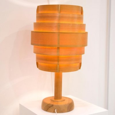 Pine table lamp (Model B127) by Hans-Agne Jakobsson