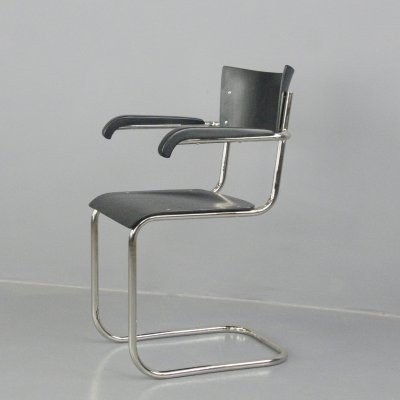 Bauhaus Cantilever Chair by Mart Stam for Gottwald, Circa 1930s