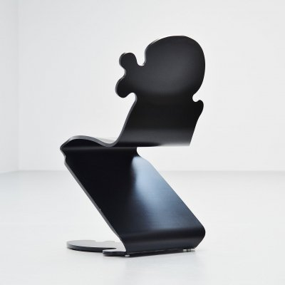 Verner Panton Pantonic 5010 chair by Studio Hag, Norway 1992
