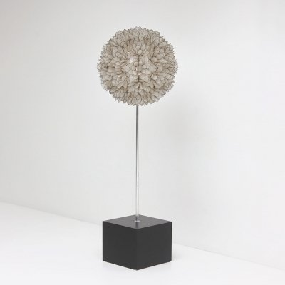 Lotus flower Rausch floor lamp in spherical shape, 1970s