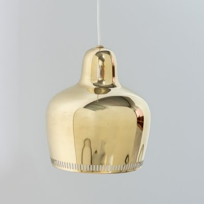 Golden Bell pendant by Alvar Aalto for Louis Poulsen