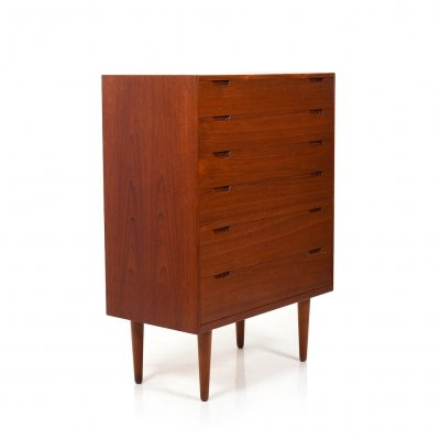 Mid Century Danish Tallboy Chest by Svend Langkilde, 1960s