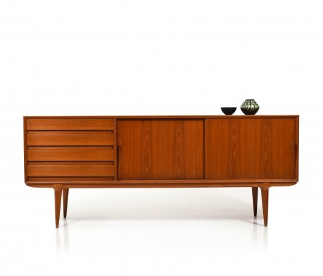 Danish Mid Century Teak Model 18 Sideboard by Omann Jun, 1950s