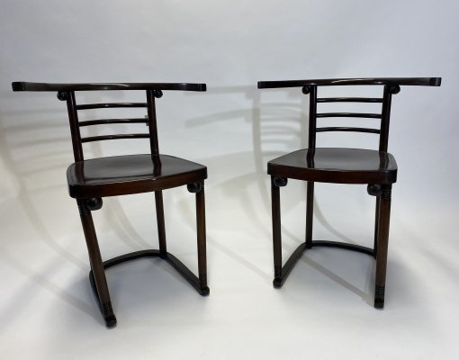 Bentwood chairs by Josef Hoffmann 1907 for Cabaret Fledermaus