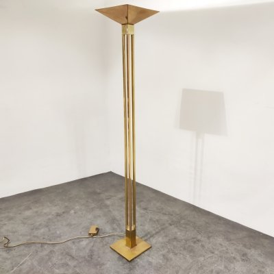 Brass Floor Lamp by Deknudt, 1970's
