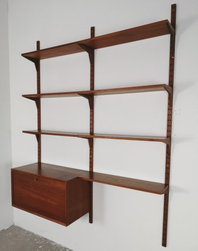 Poul Cadovius double wall unit, 1950s