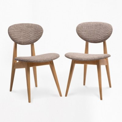 Pair of chairs by Juliusz Kędziorek, 1960s