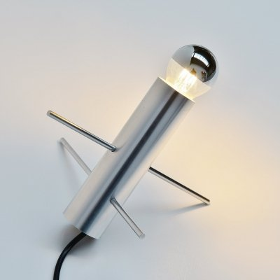 Otto Wasch cricket lamp by Raak Amsterdam, Holland 1960