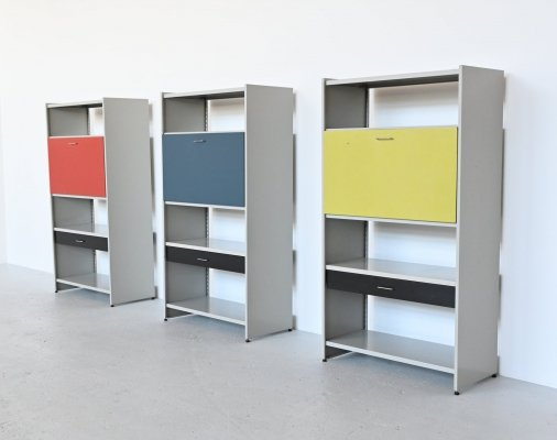 Andre Cordemeijer 5600 secretary cabinets by Gispen Culemborg, The Netherlands 1962