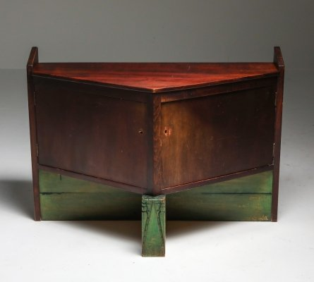 Dutch Modernist Cabinet by Hildo Krop, 1920s