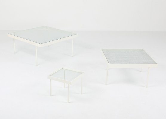 Janni Van Pelt Side Table Set, 1950's