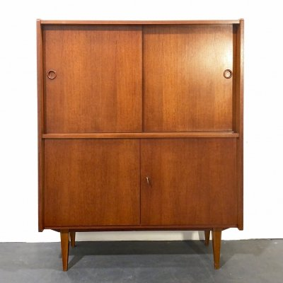 Mid-Century Teak Highboard, Germany 1960s