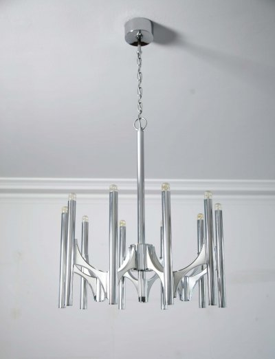 Orbit chandelier by Gaetano Sciolari, 1970s