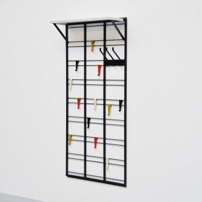 Pilastro Tjerk Reijenga coat rack, Holland 1960