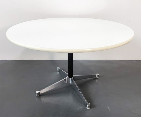 Round Segmented Dining Table by Charles & Ray Eames for Vitra, Germany 1960s