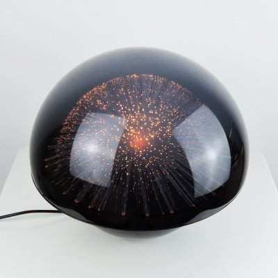 Crestworth Galaxy Colour Changing Fibre Optic Lamp, 1970s
