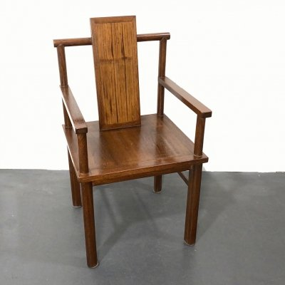 Art Deco Armchair / Desk Chair in Wood, Germany 1920s