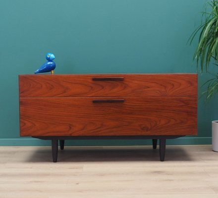 Rosewood chest of drawers by Ib Kofod Larsen for Faarup, 1970s